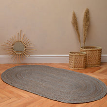 Load image into Gallery viewer, house-doctor-grey-rattan-rug
