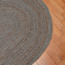 Load image into Gallery viewer, oval-rattan-rug