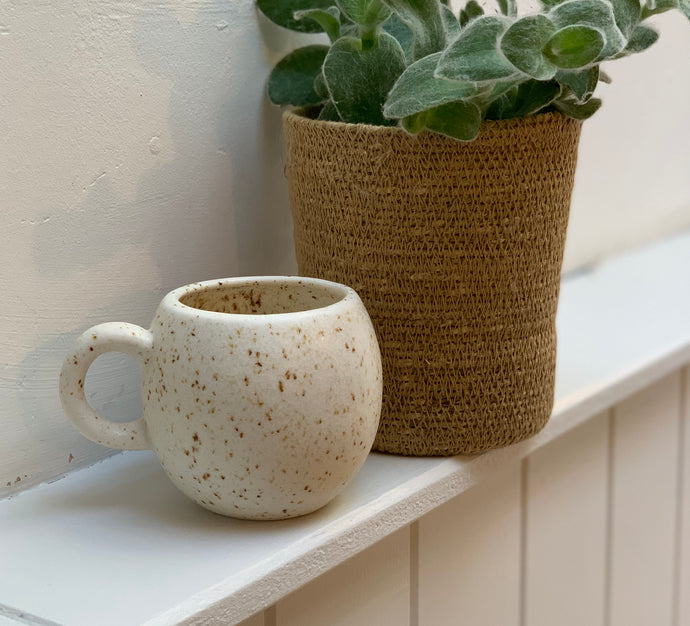 White Willow Speckle Stoneware Mug