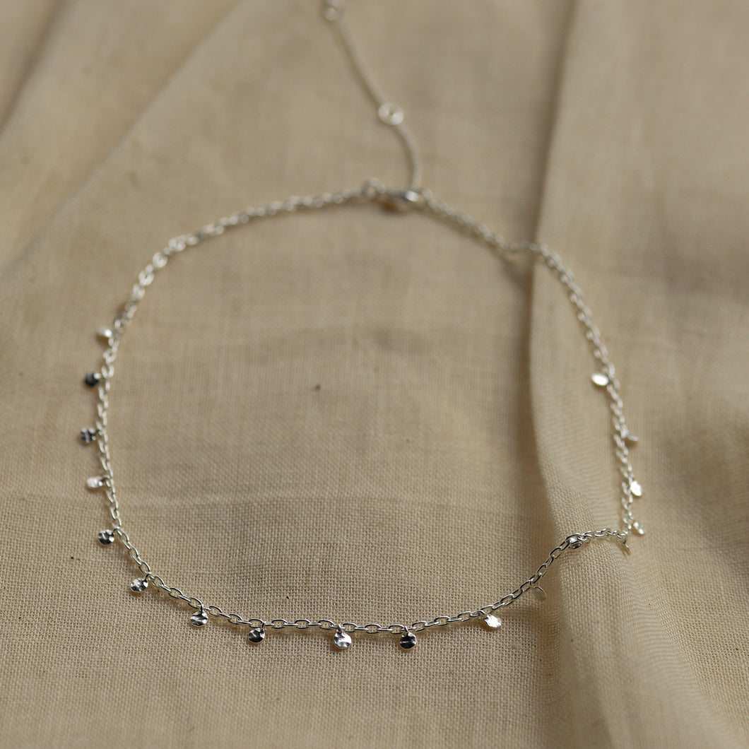 Panna Silver Plated Small Charm Necklace