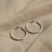 Load image into Gallery viewer, pilgrim-jewellery-sterling-silver-hoop-earrings