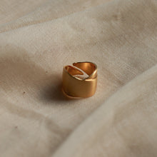 Load image into Gallery viewer, pilgrim-jewellery-gold-plated-adjustable cyrilla-ring