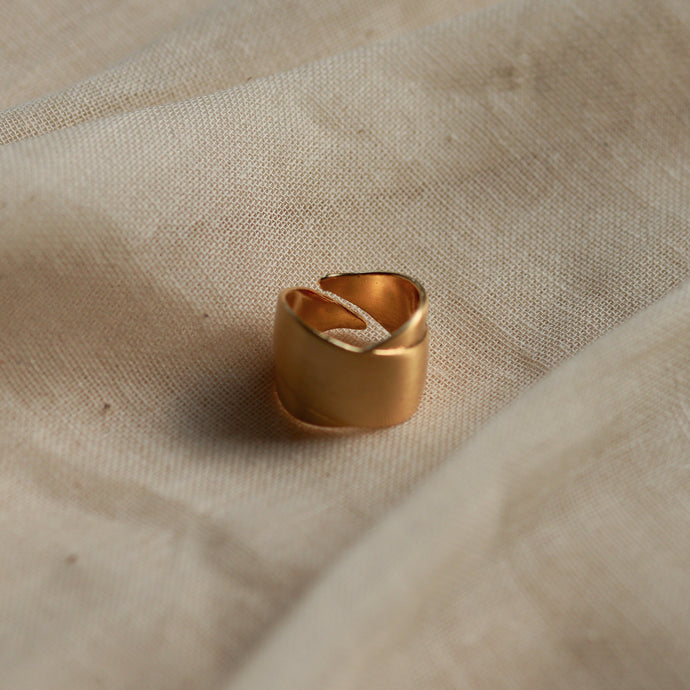 pilgrim-jewellery-gold-plated-adjustable cyrilla-ring
