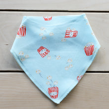 Load image into Gallery viewer, Popcorn Bandana Bib