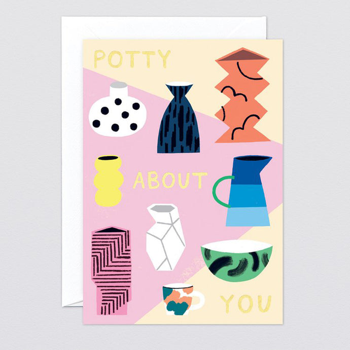 Potty About You Card