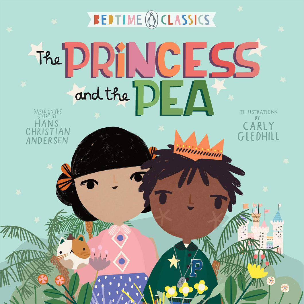 Princess and the Pea as Illustrated By Carly Gledhill