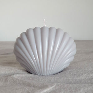 Shell Candle Cloud Grey