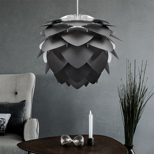 Silvia Black Lampshade in Medium