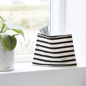 Small Stripe Makeup bag