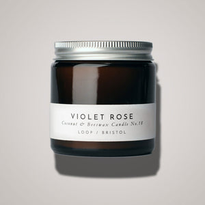 Violet Rose Scented Candle