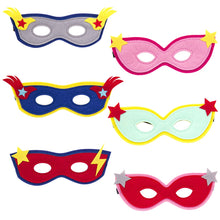 Load image into Gallery viewer, Superhero Felt Mask Assorted