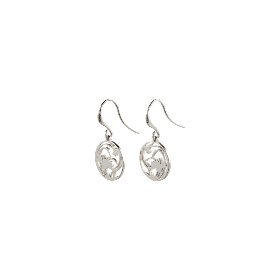 Pilgrim Abella Plated Earrings (Choice Of Two)