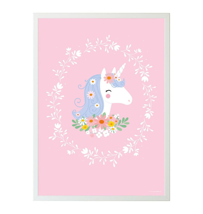 A Little Lovely Unicorn Poster