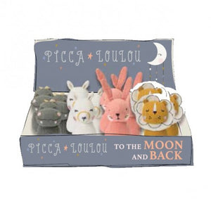 To The Moon and Back Rattle Assorted
