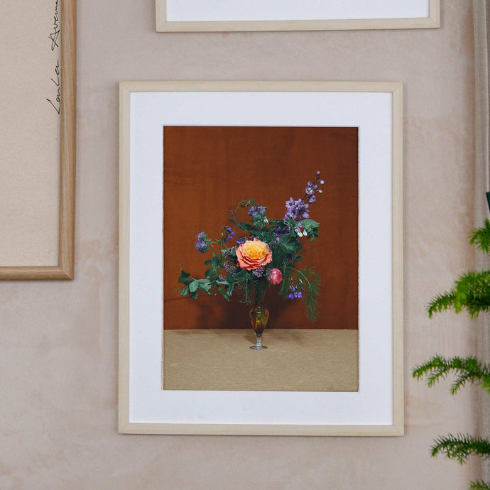 blomst floral photo print
