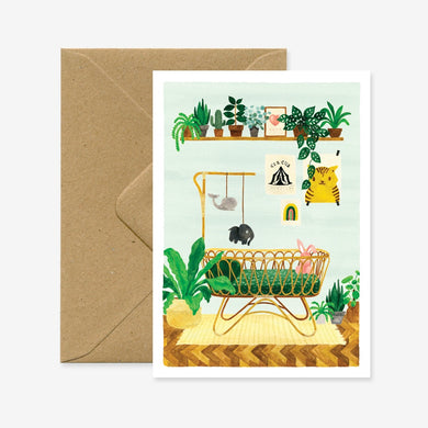 All The Ways To Say Jungle Crib Card