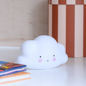 Little Cloud Night-light in White from a Little Lovely Company