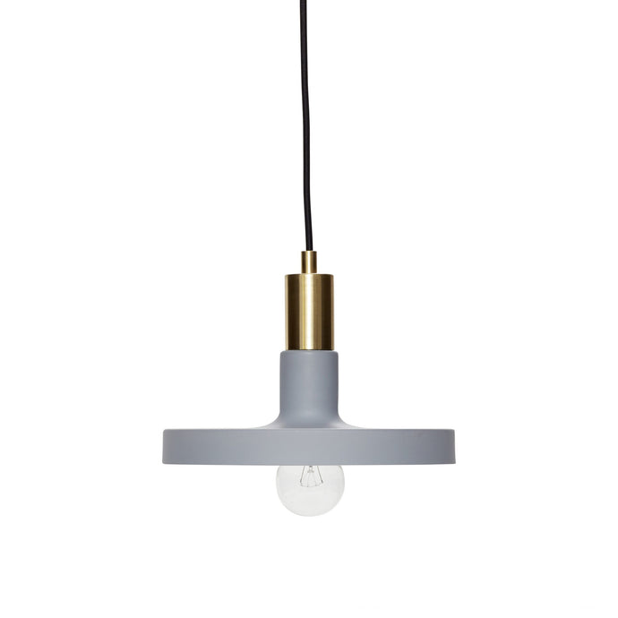 Hubsch Pendant Lamp Brass/Grey