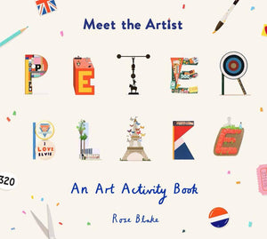 Meet The Artist: Peter Blake Art Activity Book