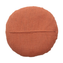 Load image into Gallery viewer, circular-terracotta-Cotton-Cushion