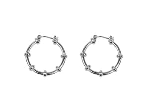 Big Metal London Eileen Plated Hoop