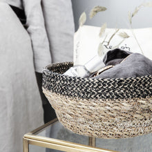 Load image into Gallery viewer, Seagrass Jute Bowl Basket Set