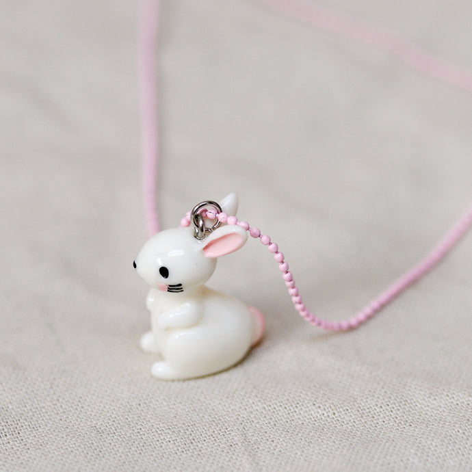 global affairs bunny rabbit necklace