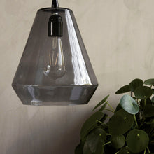 Load image into Gallery viewer, House Doctor Grey Glass Hood Lamp