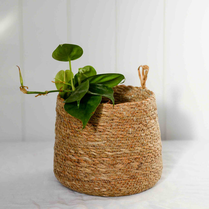hanging basket jute nature house doctor