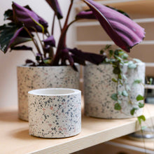 Load image into Gallery viewer, White Terrazzo Planter Large