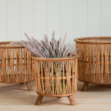 Load image into Gallery viewer, zoe-basket-wicker-planter-from-nordal
