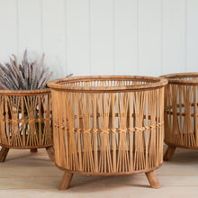Load image into Gallery viewer, Nordal Zoe Wicker Planters (Variations Available)