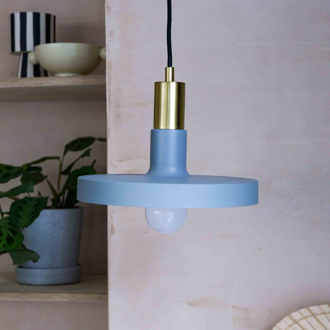 hubsch pendant lamp brass grey
