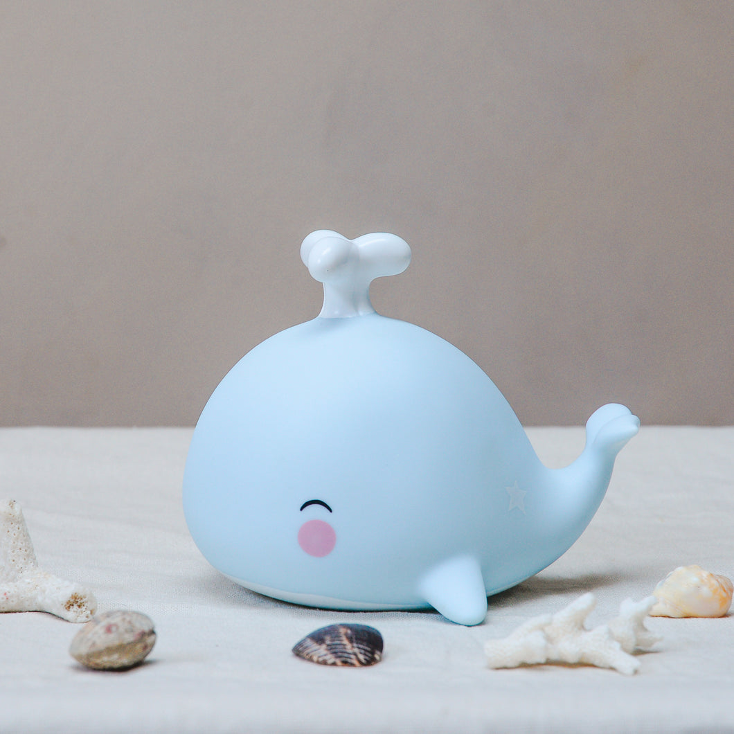 a little lovely whale night light
