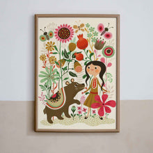 Load image into Gallery viewer, petit monkey wild dream poster