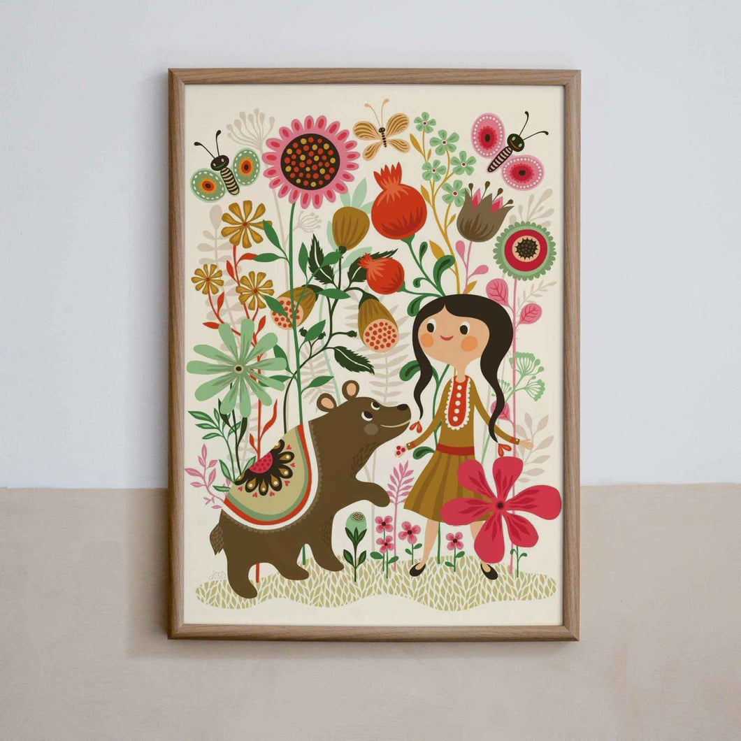 petit monkey wild dream poster