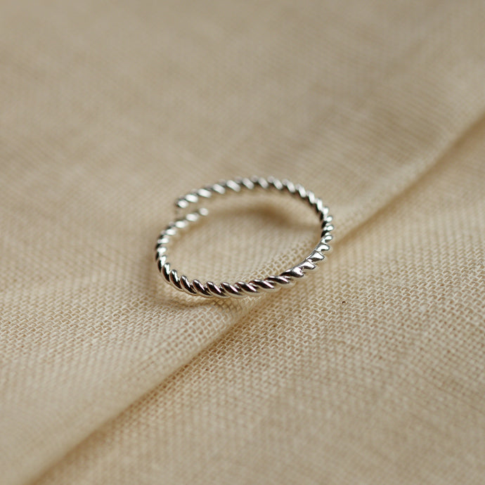 pilgrim-silver-plated-stacking-ring