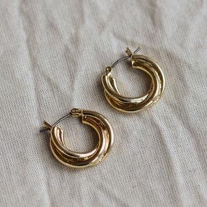 Pilgrim Jemima Twist Earrings