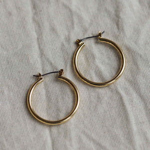 Layla Gold Plated Earrings Small