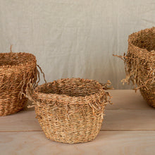 Load image into Gallery viewer, Seagrass Baskets Set of Three
