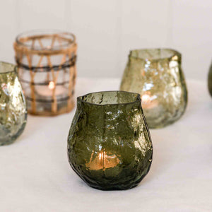 moun green vase tealight