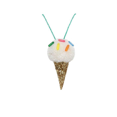 Meri Meri Ice Cream Pompom Necklace