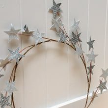 Load image into Gallery viewer, house-doctor-silver-star-wreath-candinavian-christmas
