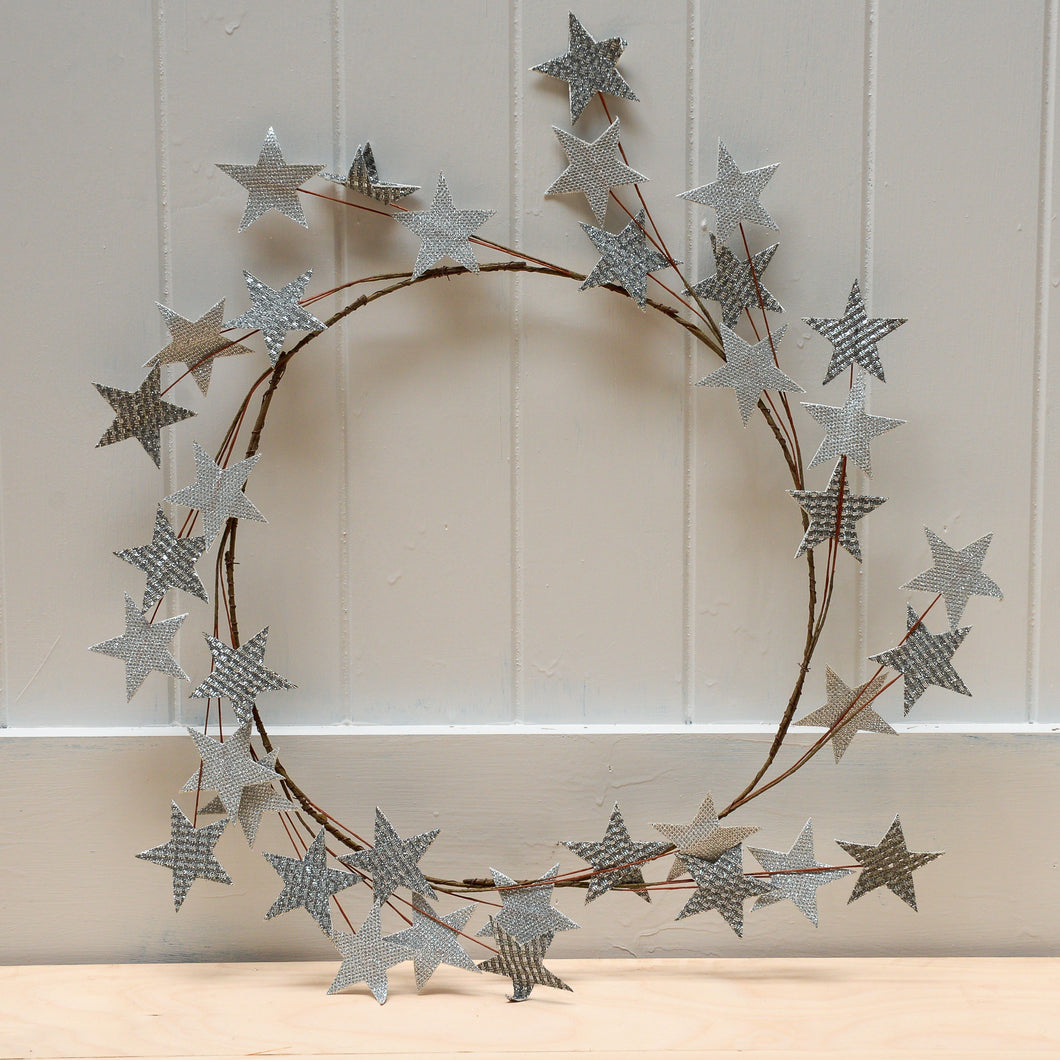 house-doctor-silver-star-wreath-christmas-decoration-scandinavian-christmas