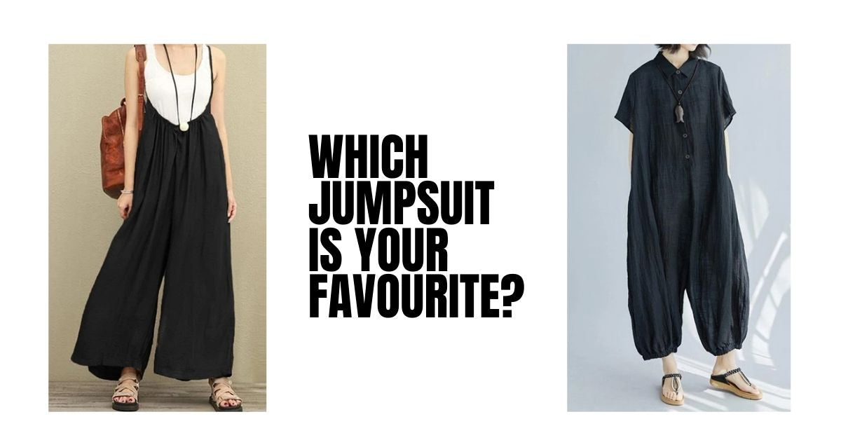 Our Top 4 Favourite Jumpsuits For Women