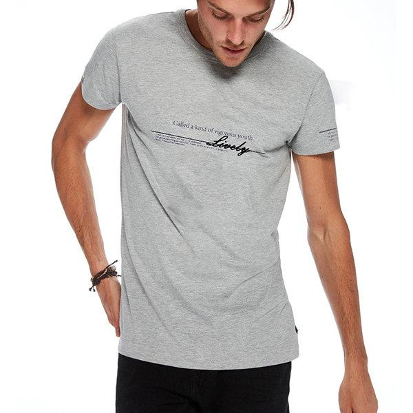 Summer Letter Printed Casual T Shirts