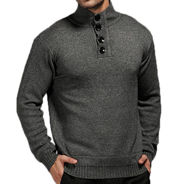 Thick Wool Knitted Casual Sweater