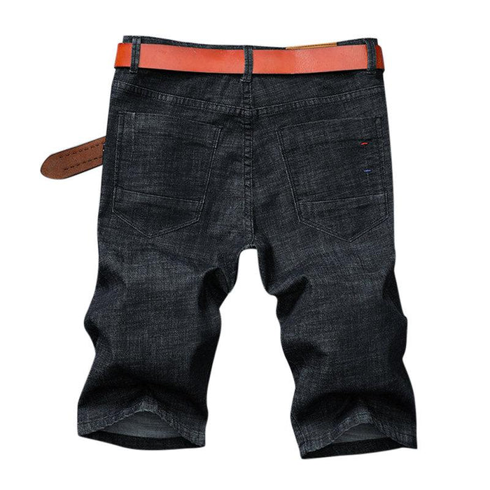 Straight Casual Short Jeans For Men
