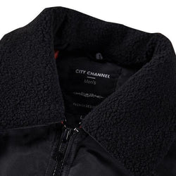 Thick Warm Fleece Collar Pockets Coat