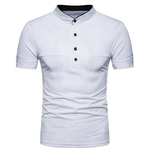 Turn-down Collar Business Cotton Breathable Golf Shirt